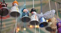 Decorações de Natal com Cápsulas Nespresso   Reciclagem no Meio Ambiente