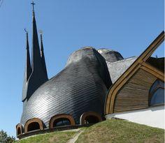 Sacred Space: Imre Makovecz, Holy Spirit Catholic Church, Paks, Hungary, 1987-88