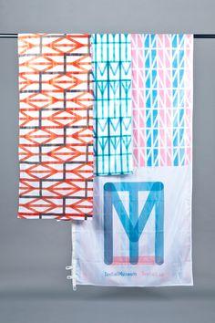 Serifs & Sans | Minimalism, Modernism, Typography TextielMuseum & TextielLab identity design by Raw Color.