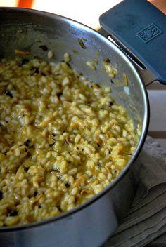CHEZ SILVIA: Risotto de camagrocs Risotto, Polenta, Paella, Quinoa, Macaroni And Cheese, Vegetables, Ethnic Recipes, Food, Pasta Recipes
