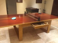 Cornilleau 250S Crossover Indoor/Outdoor Blue Table Tennis Table