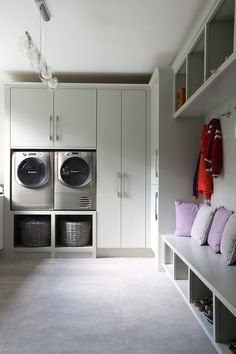 We design Bespoke Furniture for your Bedroom, Kitchen, Bathroom, and every room of your home. Boot Room Utility, Utility Room Storage, Utility Sink, Mudroom Laundry Room, Laundry Room Design, Alcove Storage, Storage Ideas, Utility Room Designs, Modern Laundry Rooms