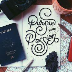 Travel Lettering on Behance