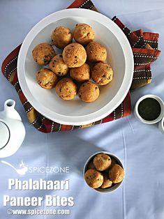 Try these yummy Phalahaari Paneer Bites this Navratri and enjoy them with mint chutney along with a hot cup of tea or coffee. Masala Tea, Garam Masala, Navratri Recipes, Sabudana Khichdi, Tamarind Chutney, Red Chili Powder, Mixed Fruit, Chaat, Finger Foods