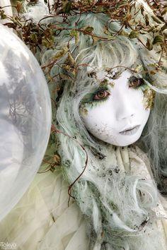 Minori - Her Memories of a Dream Japanese shironuri artist Minori - Tokyo Fashion