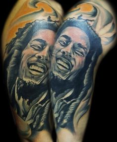 bob marley tattoo tattoo me pinterest. Black Bedroom Furniture Sets. Home Design Ideas