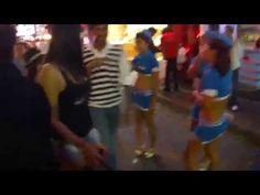 http://www.asie-voyages.com Walking street , rue des plaisirs nocturnes à Pattaya, Thailande