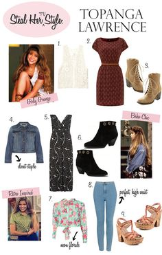 STEAL HER TV STYLE: TOPANGA LAWRENCE