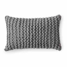 Inspiration for Knit Pillow Cover Pillow Room, Crochet Pillow, Diy Crochet, Cushion Pillow, Knitting Projects, Knitting Patterns, Coffee Lover Gifts, Coffee Lovers, Unique Home Decor