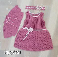 #freeshipping #dress #bolero and #headband set for girl 1 от tappleta
