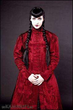 Blood Countess Red Isabella Coatdress by Kambriel by kambriel