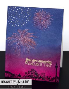Use our Pyrotechnics set to create some amazingfireworks displays on your paper crafts! 6x8 inches 11 stamps Made of photopolymer Made in the U.S.