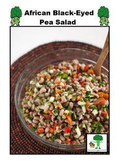 Just Eat Veggies  Salad Recipe's African Black-Eyed Pea Salad http://justeatveggies.com/salad-recipes/