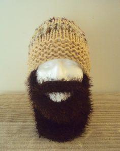 Beard Hat Beanie Duck Dynasty Style Long Beard Hat Ski Mask Face Mask Snowboard Hat Women Men Husband Boyfriend Dad Clothing Accessories by GrahamsBazaar, $39.99