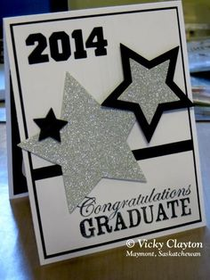 balloon graduation card with stampin up s celebrate today stamp