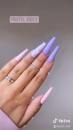 Bling Acrylic Nails, Simple Acrylic Nails, Best Acrylic Nails, Glow Nails, Plaid Nails, Exotic Nails, Instagram Nails, Dream Nails, Purple Nails