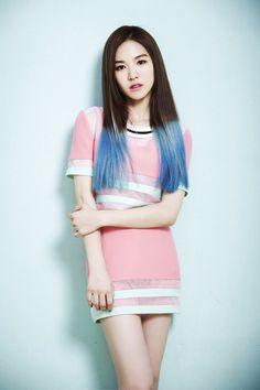 Wendy of Red Velvet 'Happiness' Teaser...Hair inspiration.