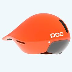 Tempor Time Trial helmet by POC together with Gustav Larsson – Olympic Time Trial Silver Medalist