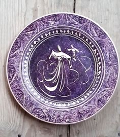 Hand Made Turkish Ceramic Plate / Wall Decor / Turkish by Turqu50, $70.00