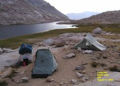 Guitar Lake - John Muir Trail