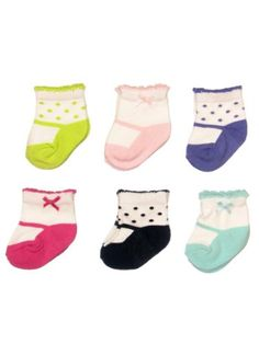 Carter's Hosiery Baby-Girls Newborn 6 Pack Mary « Clothing Impulse