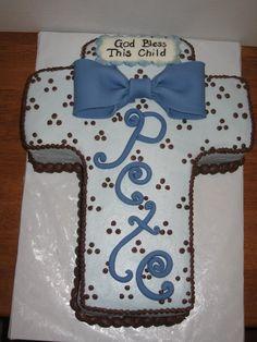 Cake idea - baptism change to pink...