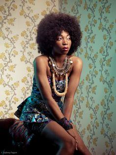 Ayikai Couture Collection by Aubrey Fagon, via Behance