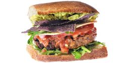 Chef/owner Anneen DuPlessis, Boon Burger Cafe Ingredients Black Bean Patty 1 Tbsp sunflower oil 1 medium onion, diced 1 Tbsp diced garlic 1 stalk celery, minced 1 vegetable bouillon cube 2 Tbsp nutritional yeast 1 Tbsp tomato paste 1 cup roasted red peppers 1 tsp chilli flakes 1 tsp salt 1 tsp cumin 1 cup …