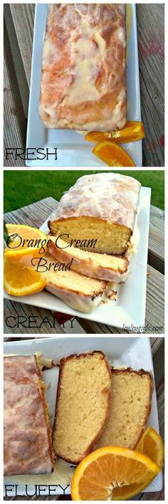 Lou Lou Girls : Orange Cream Bread | #InspirationSpotlight