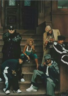 Fat Joe, Eve, Busta Rhymes, Redman, Method Man, and Bow Wow.