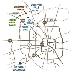 Houston Maps & Transportation - Airport, Metro Rail & Highways ...
