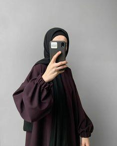 Modern Hijab Fashion, Hijab Fashion Inspiration, Islamic Fashion, Abaya Fashion, Muslim Fashion, Fashion Outfits, Hijab Style Tutorial, Modele Hijab, Hijab Chic