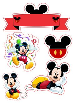 Bolo Mickey, Mickey Mouse, Disney Characters, Fictional Characters, Cakes, Places, Fantasy Characters, Baby Mouse
