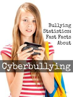 Bullying Statistics: Fast Facts About Cyberbullying