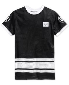 Guess Little Boys' Mesh Stripes T-Shirt