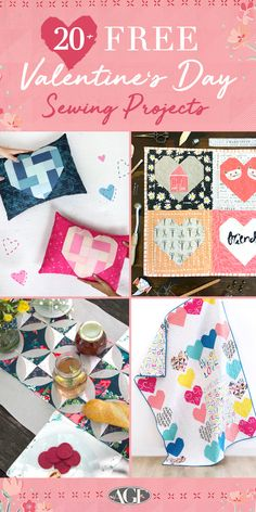 Valentine's Day is around the corner, and maybe you're looking for some sewing projects to make for a special one in your life before the big day. Search no further, because we got you covered! Check out our new Pinterest board that features 20+ FREE projects with tons of free quilt patterns and more that you can download with just a quick click of a button. 👏 Be inspired by not only the sewing content but the dreamy fabrics featured that are ideal for these projects! Quilt Patterns Free, Free Pattern, Sewing Patterns, Textile Design, Fabric Design, Heart Quilts, Art Gallery Fabrics, Surface Pattern Design, Pinterest Board