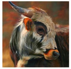 Artist TERESA ELLIOTT. You will never look at a cow the same way again.