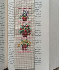 Flower Pots Bookmark