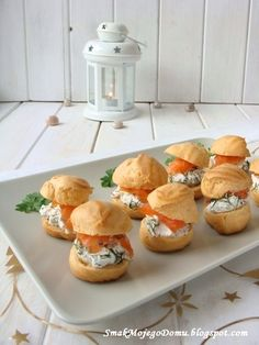 Party Finger Foods, Finger Food Appetizers, Appetizer Recipes, Snack Recipes, Snacks, No Salt Recipes, Sweet Tooth, Good Food, Food And Drink