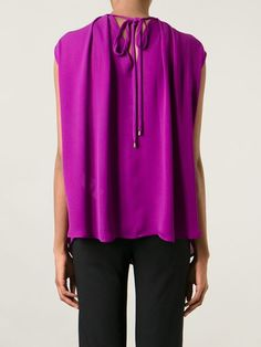 Plein Sud Metallic Collar Top - Julian Fashion - Farfetch.com