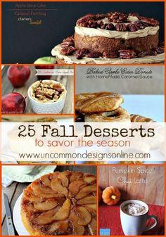 25 Fall Desserts