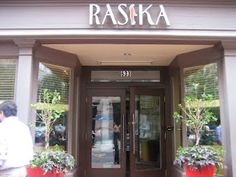 Rasika, DC gin fizz, palak chaat and the cauliflower from heaven!
