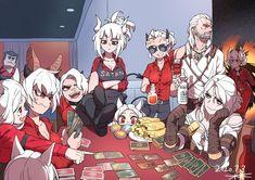 Cute Wallpaper Backgrounds, Cute Wallpapers, Demon Wolf, Video Game Anime, Anime Kiss, Demon Girl, Manga, I Love Anime, Girl Cartoon
