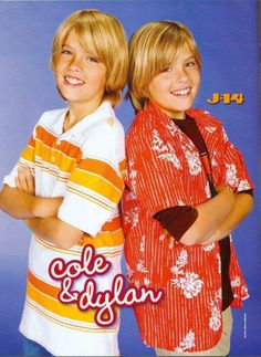 Dylan and Cole Sprouse (J-14)