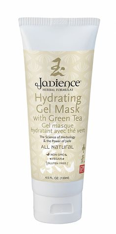 Jadience Hydrating Skin Mask w/Green Tea   Hyaluronic Acid   Vitamin C – 4.5oz   Anti-Aging Mask for Dry Skin / Blemishes, Wrinkles, Lines   Most Popular Skin Hydrating Mask for Women and Men Over 25 * Quickly view this special  product, click the image : Face treatments and masks