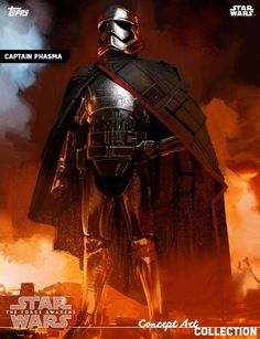 Captain Phasma concept art