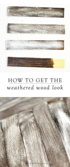 Using a rustic finish on your DIY projects will give your space a farmhouse-style look. Here, you will learn how to get the weathered wood look to add a special touch to your home decor.