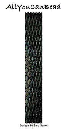 Peyote Bracelet Pattern 902 Bead Weaving INSTANT от AllYouCanBead