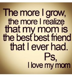 Mommies are the best
