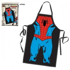 The Amazing SpiderMan  Marvel Comics Merchandise  Cotton Cooking  Baking Apron -- Details can be found by clicking on the image.Note:It is affiliate link to Amazon.